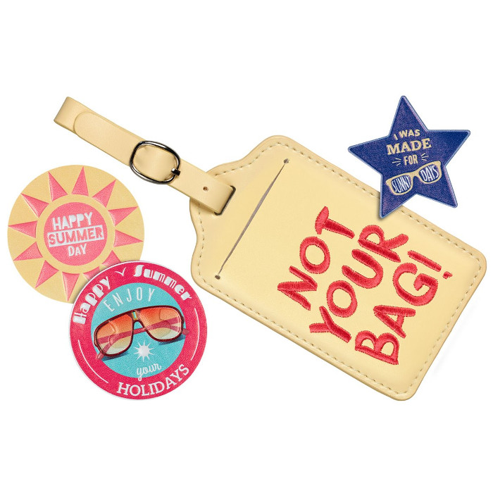 essence next stop summer luggage tag and decoration kit 01 pocketful of sunshine 4pcs 1 compressor