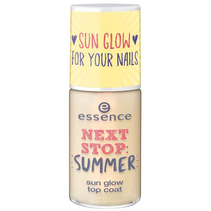 essence next stop summer sun glow top coat 01 be someones sunshine today 8ml compressor
