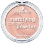 ESSENCE Matující kompaktní pudr mattifying comact powder 10 light beige 12g