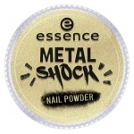 ESSENCE Pigment na nehty metal shock zlaté 04 a touch of vintage 1g