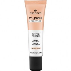 ESSENCE Podklad na tvář my SKIN PERFECTOR TINTED PRIMER 10 Light Beige 30ml