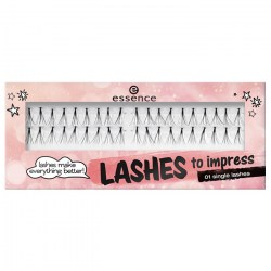 Essence Trsy řasy lashes to impress 01 single lashes