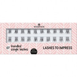 ESSENCE Trsové řasy lashes to impress 07 BUNDLED SINGLE LASHES trsy trio