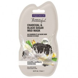 FREEMAN CHARCOAL & BLASK SUGAR MASK