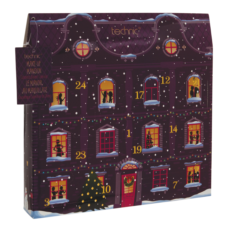 kosmeticky adventni kalendar TECHNIC Make Up Mansion Cosmetic Advent Calendar Kosmetický  kosmeticky adventni kalendar