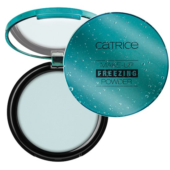 catrice freezing pudr limitka active warrior pruhledny pudr